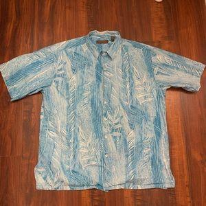 Tori Richard Short Sleeve Button Down Size XL 100%